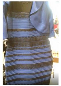 What colour is the dress
